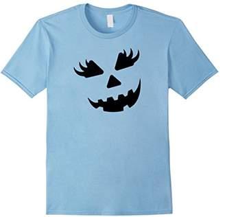 Jack O' Lantern Girl Pumpkin Halloween Costume T-Shirt Funny