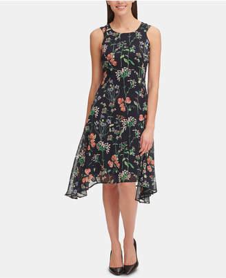 Tommy Hilfiger Petite Gala Floral High-Low Dress