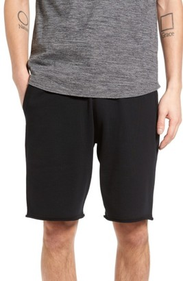 Men's Reigning Champ Raw Edge Drawstring Shorts $95 thestylecure.com