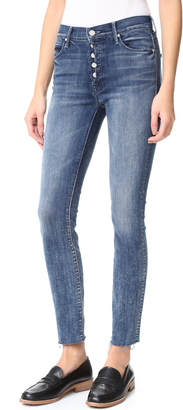 MOTHER Fly Cut Stunner Fray Jeans $228 thestylecure.com