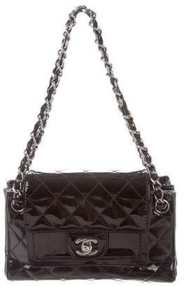Chanel Patent Leather Accordion Flap Bag