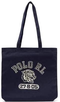 Polo Ralph Lauren Logo Print Tote - Mens - Navy
