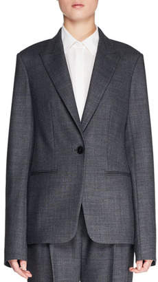 The Row Naycene One-Button Wool-Blend Jacket