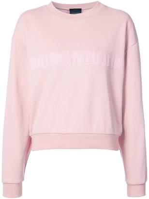 Cynthia Rowley Paradise crewneck sweatshirt
