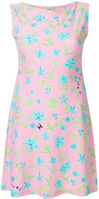 Chanel Pre-Owned floral print dress