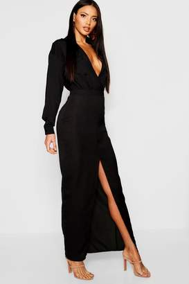 boohoo Utility Pocket Front Maxi Dress