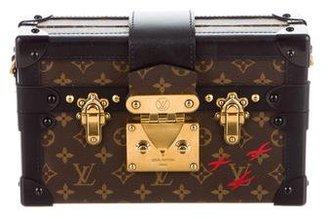Louis Vuitton Monogram Petite Malle $3,900 thestylecure.com