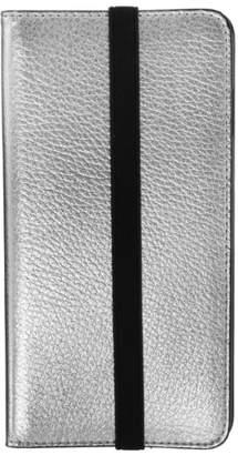 MOBILELUXE iPhone 6 Plus/6s Plus Metallic Leather Wallet Case