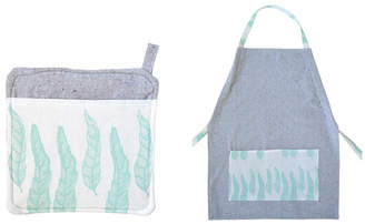 Rangemark Feather Apron + Potholder Bundle