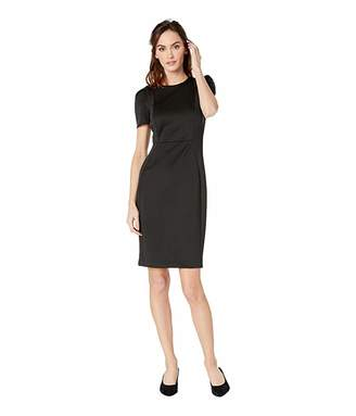 Calvin Klein Short Sleeve Sheath Dress CD8M19JL