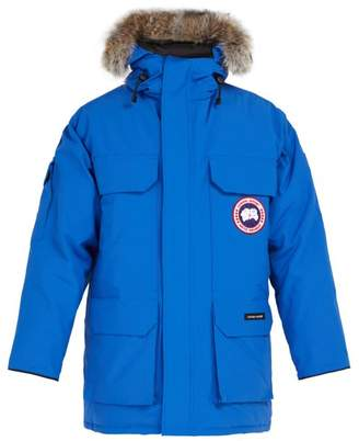 Canada Goose Pbi Expedition Down Filled Hooded Parka - Mens - Blue