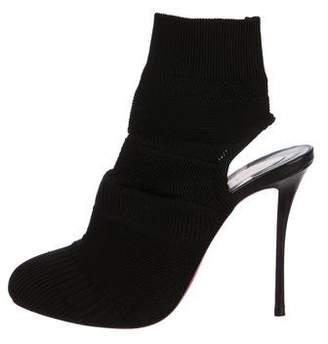 Christian Louboutin Knit Sock Booties