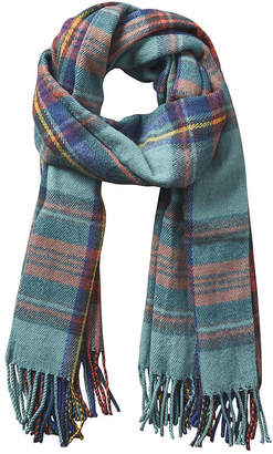 DESIGN IMPORTS Design Imports Plaid Wrap Cold Weather Scarf