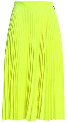 MSGM Pleated Flared Style Skirts