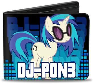 My Little Pony Buckle Down 80's Toy DJ Pon-3 Bi-Fold Wallet
