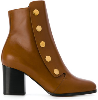 Mulberry buttoned boots $757.83 thestylecure.com