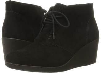 Crocs Leigh Suede Wedge Shootie Women's Boots