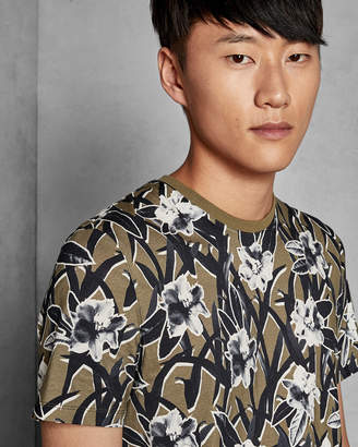 Ted Baker CAMP Printed cotton T-shirt