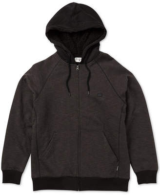 Billabong Men's Zip-Front Fleece Hoodie