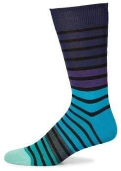 Paul Smith Fialor Stripe Knitted Socks