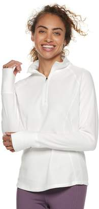 Tek Gear Women's Lightweight Microfleece 1/4 Zip Top