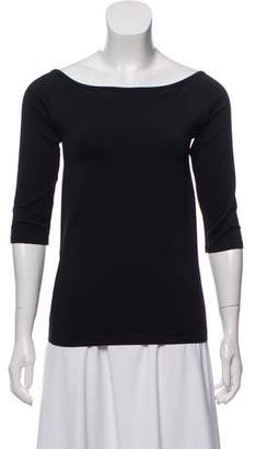 Helmut Lang Casual Off-The-Shoulder Top w/ Tags