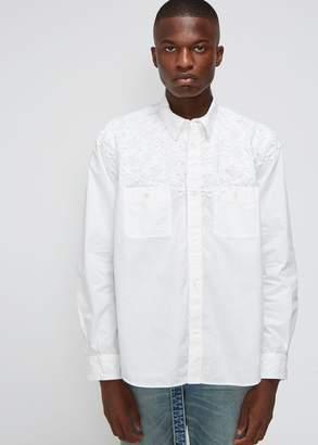 Sacai Embroidered Shirt