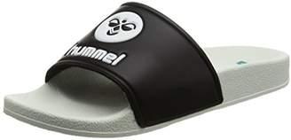 Hummel (ヒュンメル) - [ヒュンメル] シャワーサンダル SHOWER SANDAL HAS4021 9010 BLACK/WHITE 23.0(23cm)