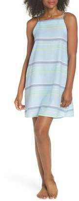 Echo Sunset Stripe Cover-Up Dress