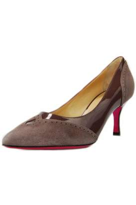Luciano Padovan Two Toned Pump $230 thestylecure.com