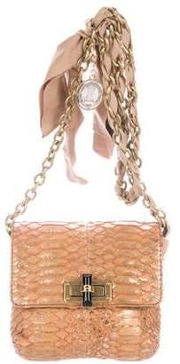 Lanvin Python Happy Mini Pop Bag