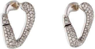 Damiani White Gold Earrings