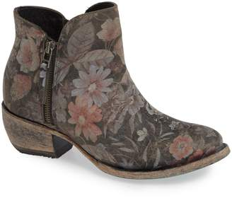 LANE BOOTS Moonflower Print Bootie