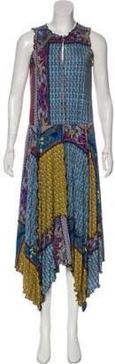 Etro Printed Asymmetrical Dress