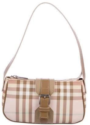 Burberry Candy Nova Check Mini Shoulder Bag