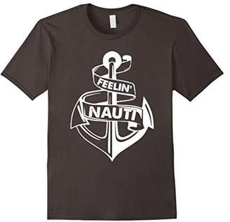 Feelin Nauti Nautical Boat Captain T-Shirt