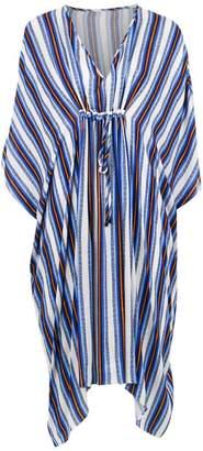 Tufi Duek striped tunic dress