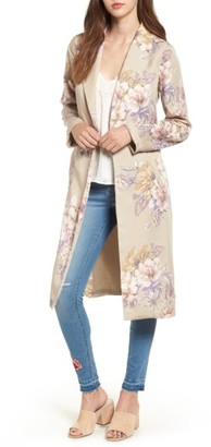 Women's Leith Floral Duster $149 thestylecure.com