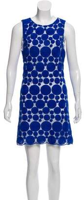 Alice + Olivia Dotted Shift Dress