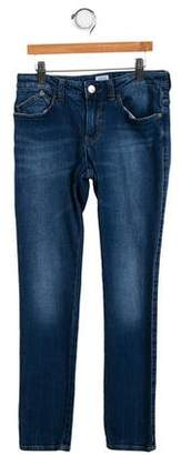 Armani Junior Girls' Five Pocket Jeans