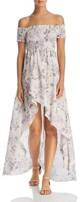 Show Me Your Mumu Willa Off-the-Shoulder Maxi Dress