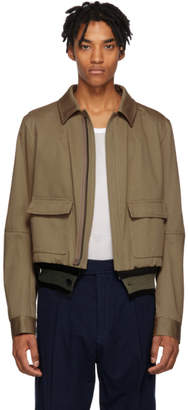 Haider Ackermann Tan Silene Jacket