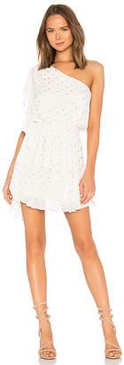 Krisa One Shoulder Ruffle Mini Dress