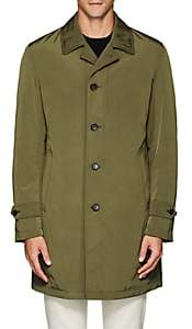 Barneys New York MEN'S DOWN COAT-OLIVE SIZE XL