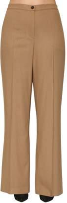 Marina Rinaldi Stretch Viscose Wool Wide Leg Pants