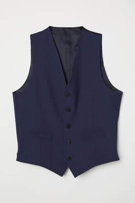 H&M Wool Suit Vest - Blue