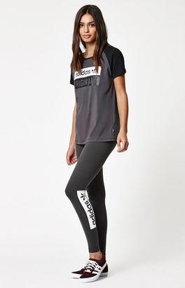 adidas Graphic Leggings $35 thestylecure.com