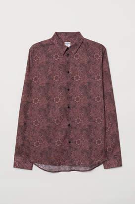 H&M Patterned Shirt - Orange