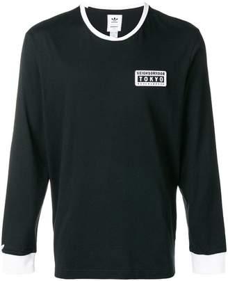 adidas X Neighborhood long sleeve T-shirt
