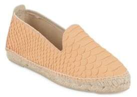 Manebi Amazonia Embossed Leather Espadrilles